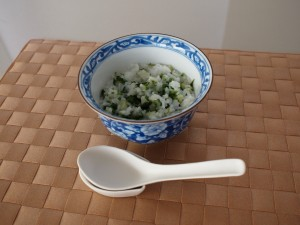 Rice porridge with seven cereals